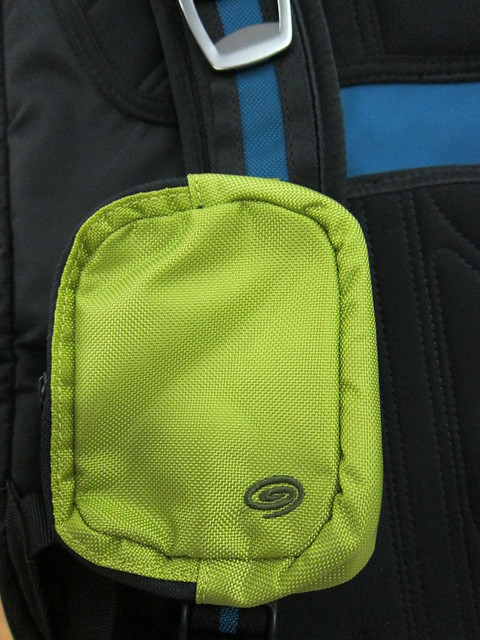 Timbuk2 Dime Bag - On Timbuk2 Q Backpack 2011