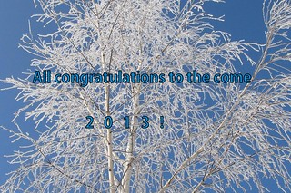 All congratulations to the come  2013!!!