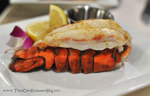 Add-on Lobster Tail at Woolley's Steakhouse ~ Bloomington, MN