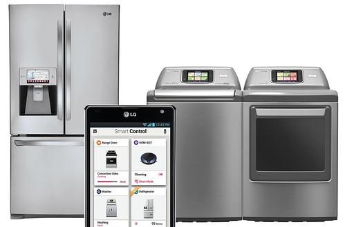 냉장고, 세탁기, 스마트 기기