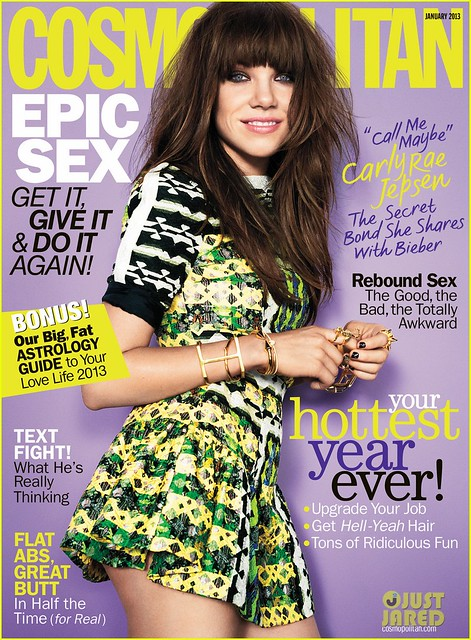 Cosmopolitan magazine January 2013 issue