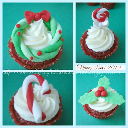 Red velvet cupcakes capodanno 3