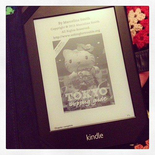 It's me on my kindle! Hope to have this available to everyone soon.