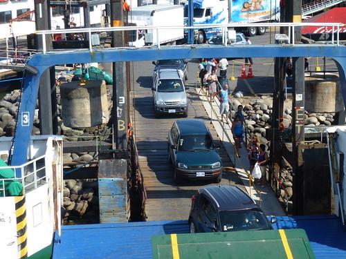 Puntarenas - ferry naar Paquera - onze huurauto - Daihatsu Terios