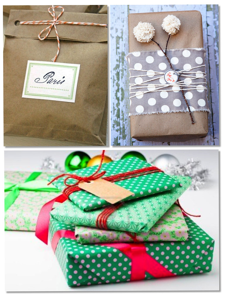 Gift Wrapping. Envolver regalos