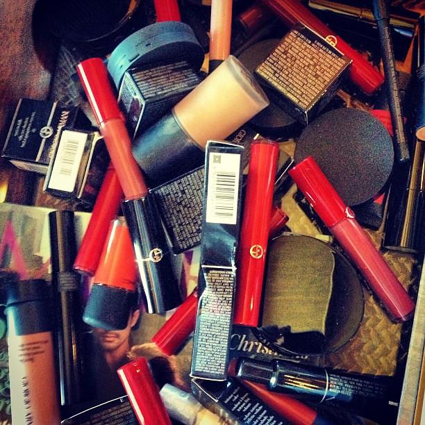 Unlimited supple of Armani Cosmetics for the wedding! Yay!!! #armani #cosmetics #beauty #makeup  #igdaily #instadaily #instagram #instagood #instamood #instacool #picoftheday #photooftheday #bestoftheday #webstagram #igersmanila #igmanila #igphilippines #