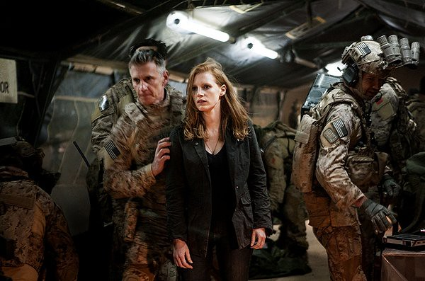Jessica Chastain is the woman who found Bi Laden in ZERO DARK THIRTY.
