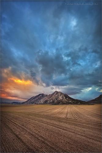 california mountain storm landscape countryside cornfield farm fields nuevo perris