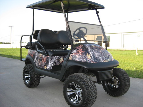 Custom Golf Carts Fort Worth TX - Labeled X Golf Carts (8)