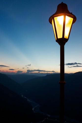 farol chicamocha sunset atardecer cañóndelchicamochacanyon santander colombia