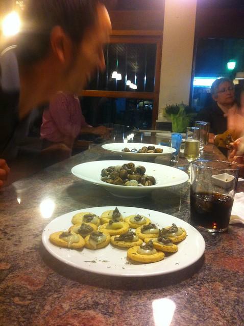 restaurante caragoles Piroska en Muro
