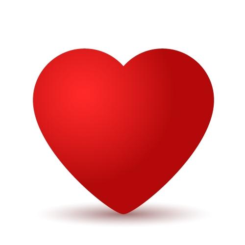 Как нарисовать сердце в Adobe Illustrator
