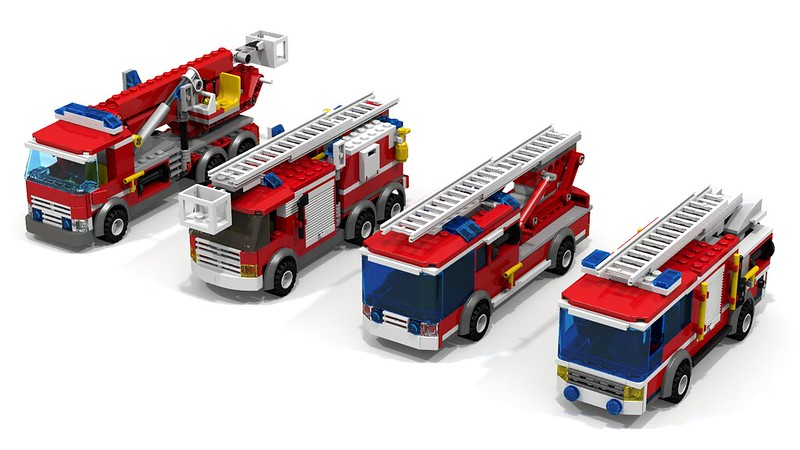 Triple Review Special 60002 Fire Truck Lego Town Eurobricks