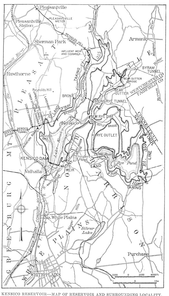 Pre and Post Reservoir Map