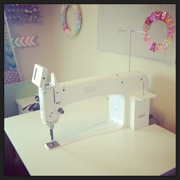 Meet Bea! My new @babylocksewing baby!  I love her so!