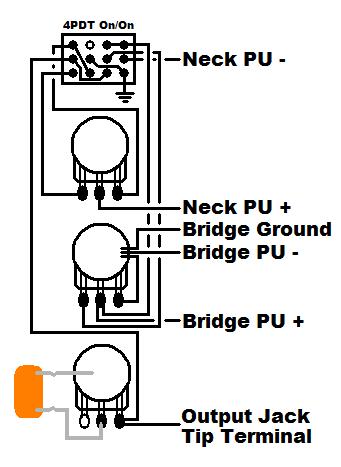 vvt jazz bass wiring w/ series/parallel switch that retains
