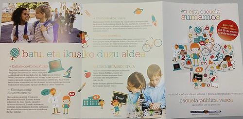 Matrícula Escuela Pública Vasca 2