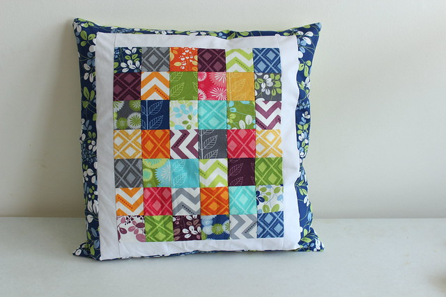 Simply Color Pillow, front