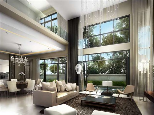 The Villa @ ForestHill Damansara Living Room