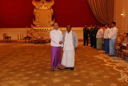 RM's VISIT TO MYANMAR by Chindits