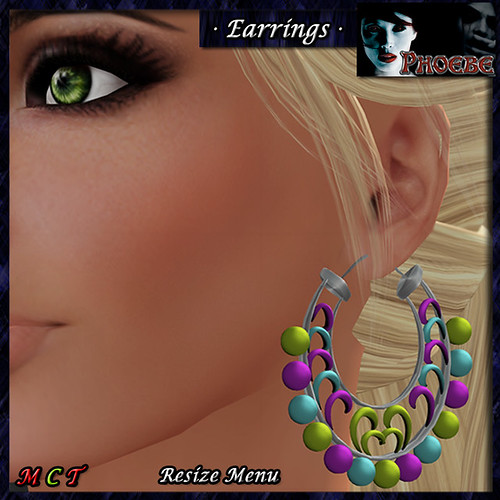 [$10L PROMO] *P* Sherezade Earrings ~Summer~