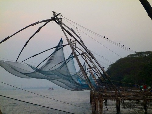India, redes de pesca