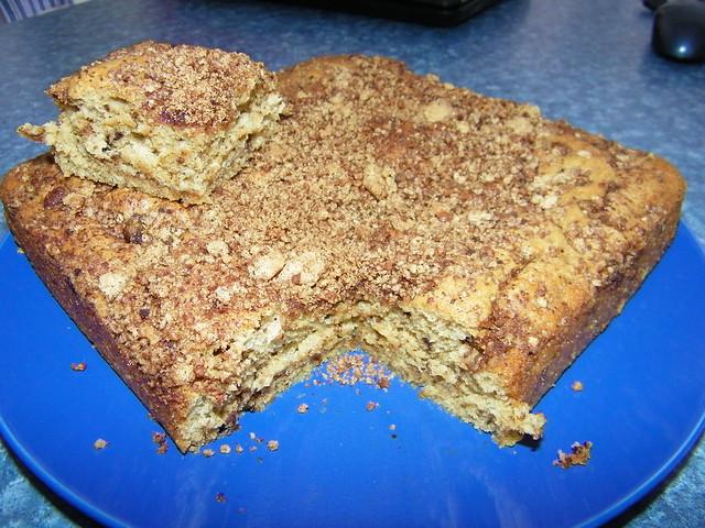 Coffee Pecan Cake