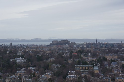 Edinburgh Castle from Blackford Hill, Edinburgh