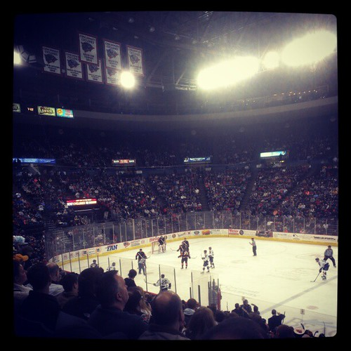 @USBankArena is packed for @CincyCyclones hockey! #GoClones! #CyclonesPhotoAGame