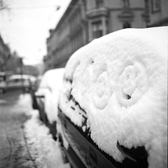 Smileys in the snow