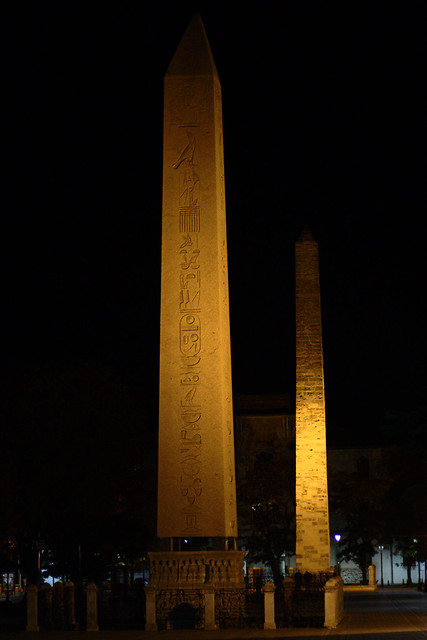 Obelisk of Theodosius and Walled Obelisk  Explore Scott ...