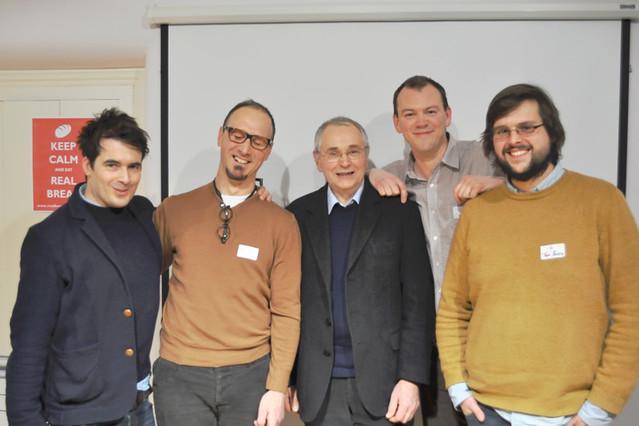 Tom Herbert, Emmanuel Hadjiandreou, Andrew Whitley, Chris Young and ...