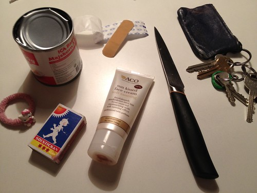 Make up a short story with theese items included
