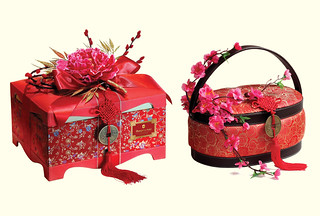 The Prosperity Deluxe and Prosperity Treasures hampers are priced at MYR788+ and MYR1,088+ respectively.