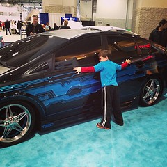 No, I said this is my car :) #washingtonautoshow #prius