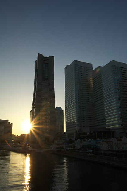 Yokohama Skies; Sunset