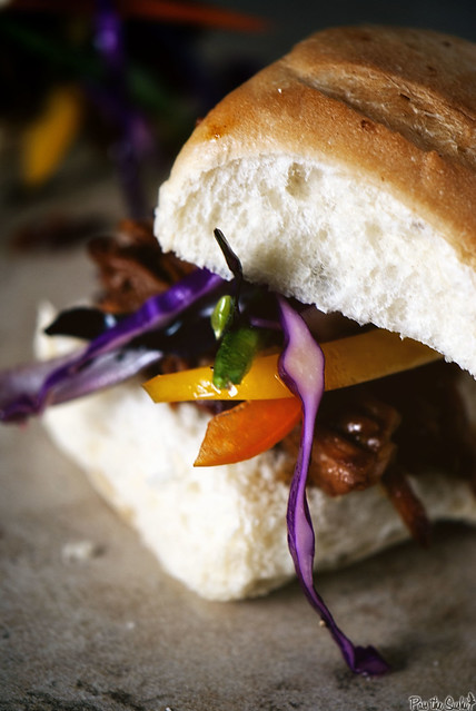 Slow Cooker Asian Sliders