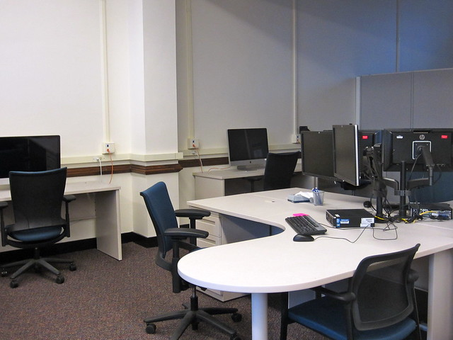 image of computers in scholarly commons