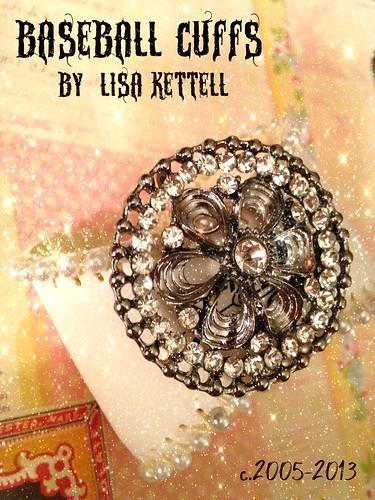 Baseball Cuffs, Promo, Lisa Kettell 2013