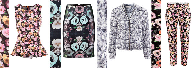 Graphic Florals H&M
