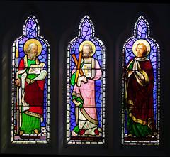 St Thomas, St Andrew, St John