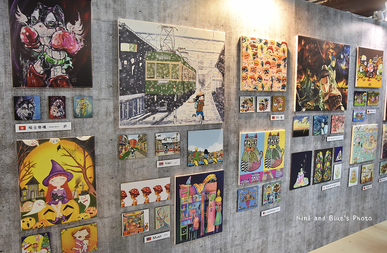 台中後火車站舊酒廠王畫創意園區2016插畫展30