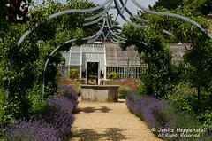 Covered walkway at Osborne House Walled Garden