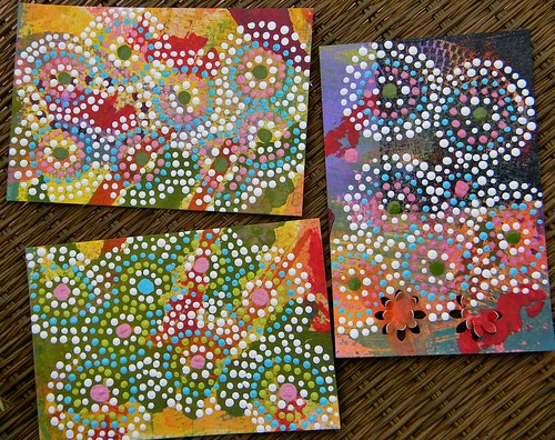 Mosaic Dreamtime postcards