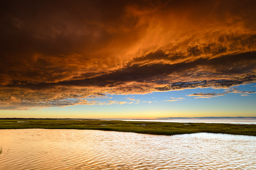 usa storm nature clouds ma flickr glow estuary marsh ripples yarmouth habitat basshole