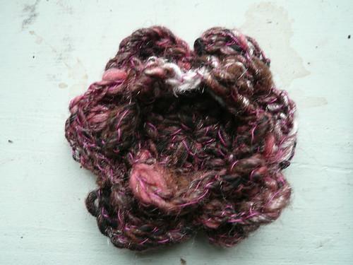 Choc rasp flower