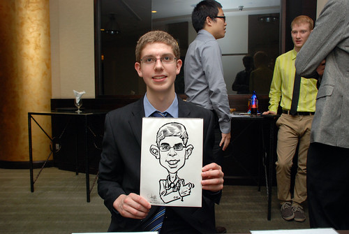 caricature live sketching for NUS - 7