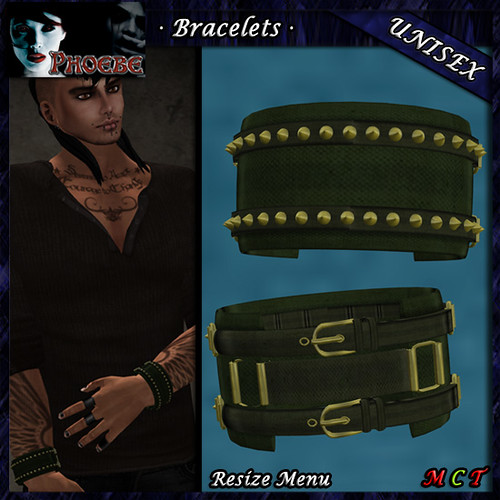 [$60L PROMO] *P* Unisex Military Bracelets