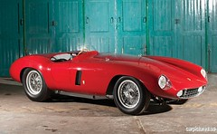 ferrari 250(0.0), jaguar xkss(0.0), race car(1.0), automobile(1.0), ferrari monza(1.0), maserati 450s(1.0), vehicle(1.0), land vehicle(1.0), sports car(1.0),