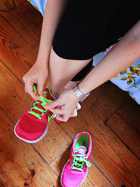 Nike Free Run Rosas
